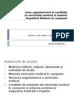 Misiunile, structura organizatorică_