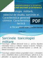 Prelegere TOXICOLOGIE  român