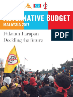 ALTERNATIVE BUDGET MALAYSIA 2017 ( PAKATAN )