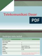 1. Dasar Telekomunikasi