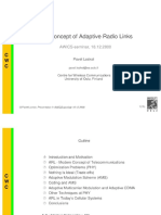 Adaptive Radio Links
