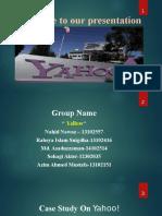Yahoo-ppt