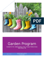 local edible plants - garden program final