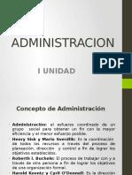 Administracion 1 Unidad