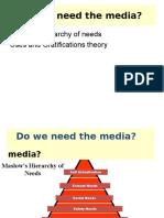 Do we need the media?