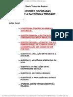 Questões disputadas sobre a Santíssima Trindade.pdf