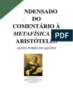 EDITADO - Comentário Condensado à Metafísica de Aristóteles