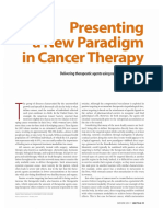 Presenting a New paradigm in Cancer Therapy