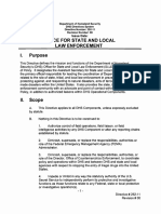 Plcy Directive 252-11 Office for State and Local Law Enforcement