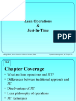 4 Lean Operation and Jit