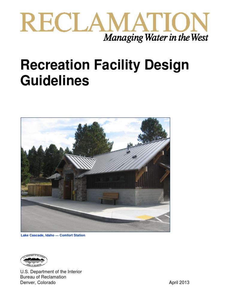RecreationFacilitiesDesignGuidelines pdf | Campsite | Green