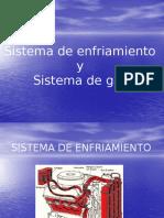 Sistema de Enfriamiento y Sistema de Gas MECANICA