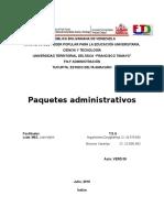 Paquete Administrativos
