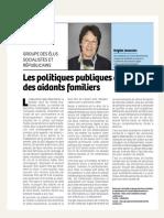 Tribune Brigitte Jeanvoine Octobre 2016