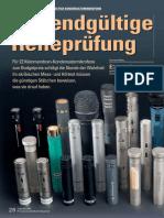 Pa9616 Vergleichstest Kleinmembran-mikrofone