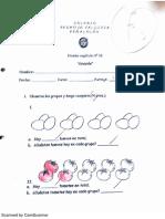 Primero Basico Prueba Cap 16 Division