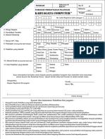 formulir pelatihan karyagata