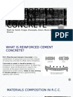 Reinforced Cement Concrete