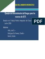 [Adm_rr] - Unida Vi - Subsistema Control Ambiente Informatico - Seguridad - Ejemplo 2016