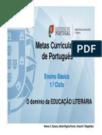 1 Ciclo Educacao Literaria