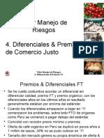 Diferenciales & Fijaciones Comercio Justo '12