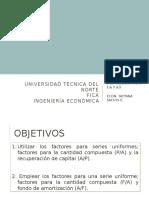 5. Factores Series Uniformes (p a) (a p) (f a) y (Af)