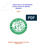 Package of Practices in Important Horticultural Crops of a.P.