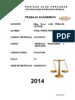 Ta 6 0703 07309 Derecho Financiero y Bancario