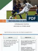 Futbol Base Integracion Tactica