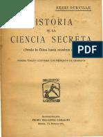 Durville - Historia de la Ciencia Secreta.pdf