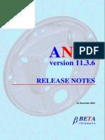 Ansa v11.3.6 Release Notes