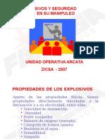 Explosivos y Seguridad en Su Manipuelo - ZICSA