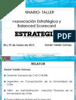 Planificación Estrategica y Cg - CAS Chile