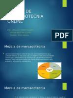 Mezcla de Mercadotecnia Online