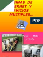 Cabinas de Internet y Servicios Multiples
