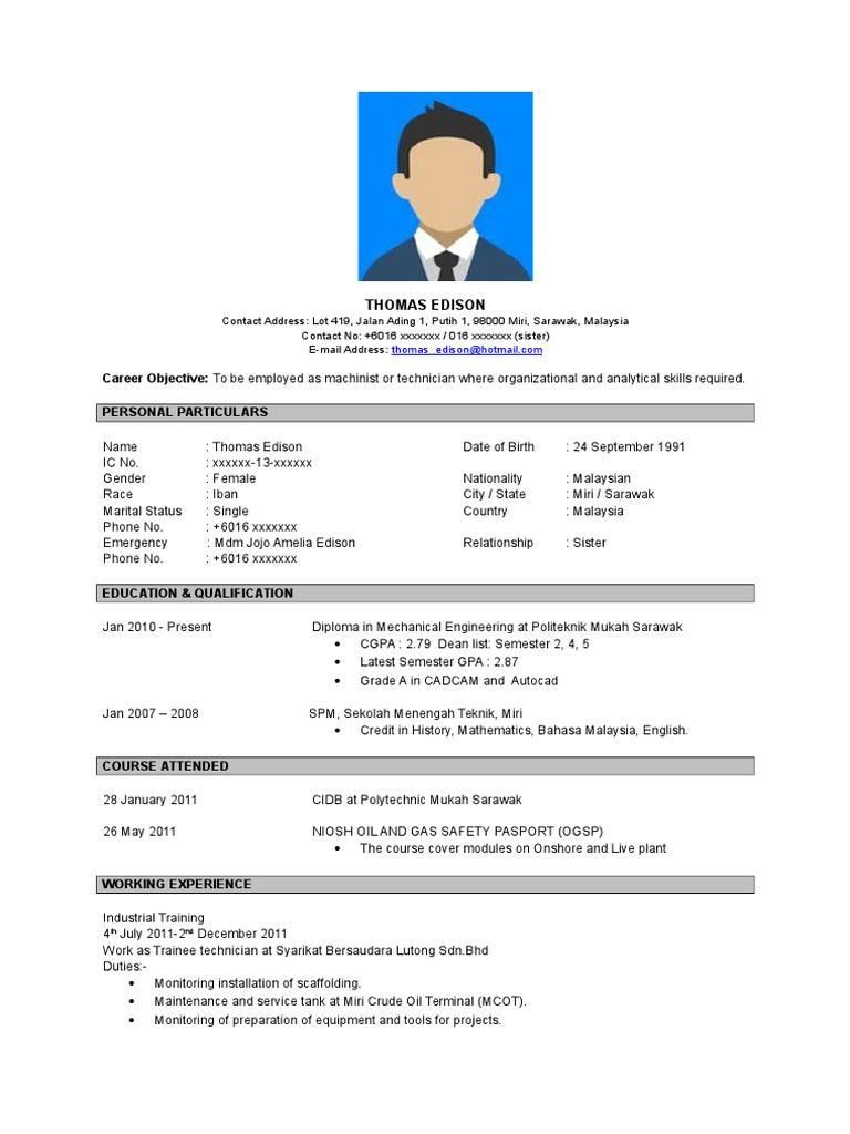 contoh resume bahasa inggeris doc