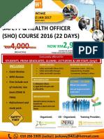 Safety & Health Brohure UM KL - PART TIME OKT 2016