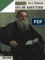 Liev Tolstoi a Sonata de Kreutzer