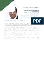 CV Giancarlo Gómez Del Chiaro Sin Carta