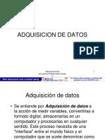 Adquisicion de Datos