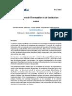 Management de l'innovation et de la création