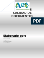 Gestion de Calidad en Gestion Documental