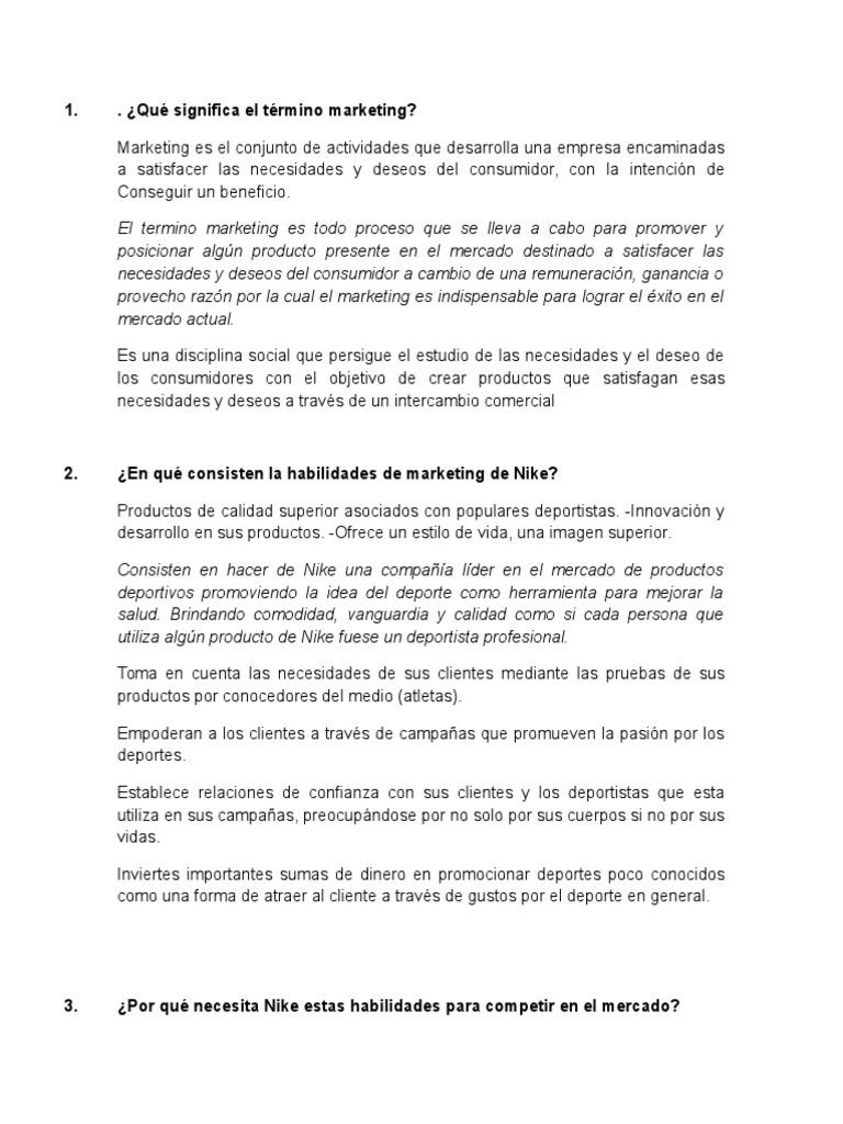 Simposio Corrección Atajos  CASO NIKE   Nike   Marca