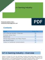 IoT in Gaming Industry- Report