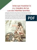 Ilustraciones Que Muestran Lo Erótico y Macabro de Tus Cuentos Infantiles Favoritos
