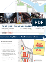 East Harlem Proposed Rezoning Plan