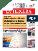 Diario La Tercera 19.10.2016
