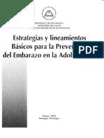 Estrateg y Lineam Embarazo_adolescencia
