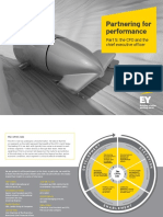 EY CEO and CFO Partner for Performance