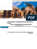 Integrated Comprehensive Mobility Plan for Bhubaneswar - BDA